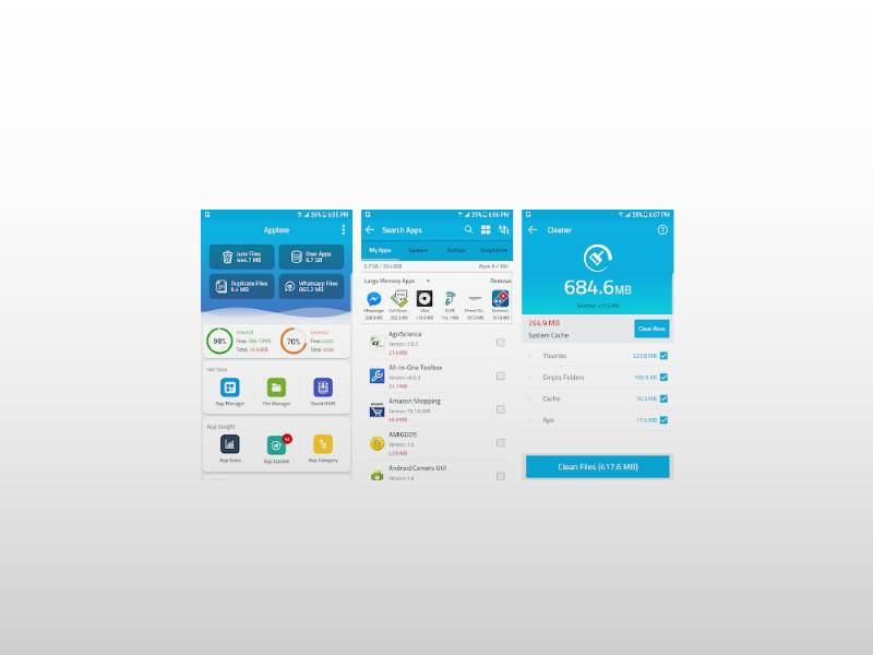 Applore - Andriod utility app